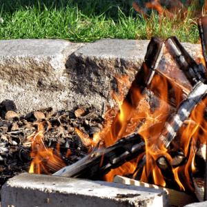 Outdoor-Lagerfeuer