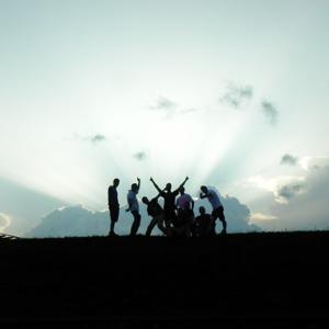 Outdoor-Teamevent -Gruppenbild
